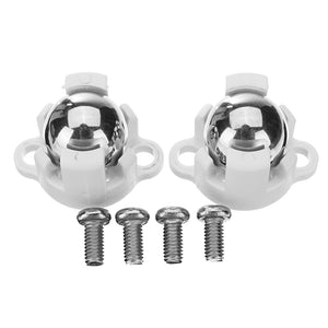 1 Pair Robot Chassis Universal Wheels With M3 Screw For Arduino Smart Car