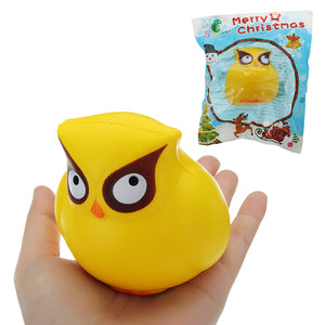 Owl Squishy 18CM Slow Rising With Packaging Collection Gift Soft Toy