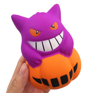 GiggleBread Halloween Pumpkin Squishy 11*8.5*8CM Licensed Slow Rising With Packaging