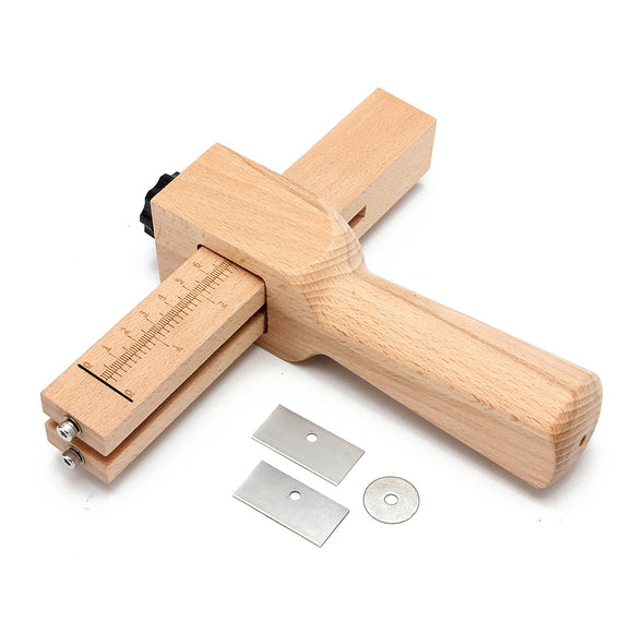 Adjust Strip and Strap Cutter Leather Hand Cutting Tool With Blade DIY