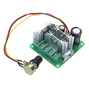 5pcs DC 6-90V 15A 1000W Pulse PWM DC Motor Speed Regulator Speed Controller Speed Control Switch