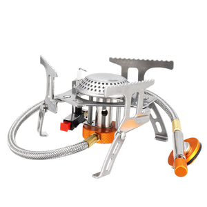 3500w 1 2 People Outdoor Portable Mini Gas Stove Cooking Burner