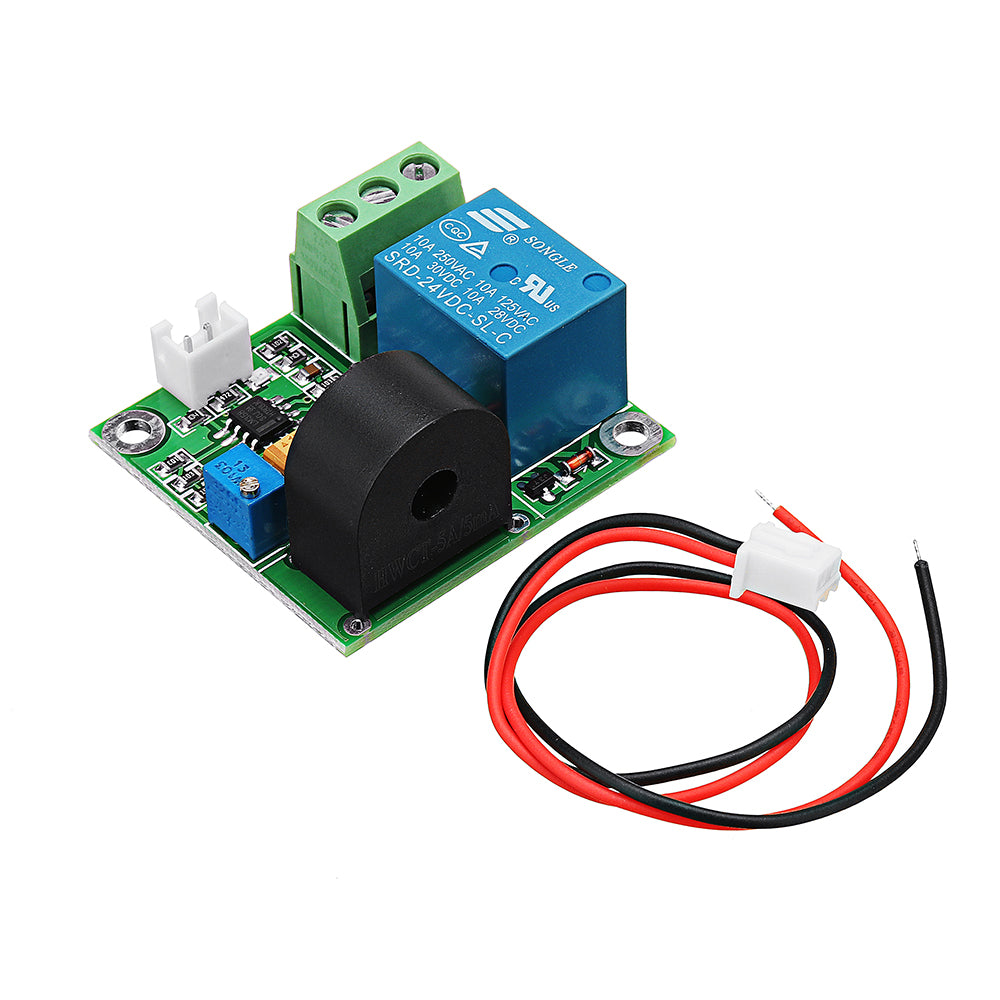DC 24V 5A Overcurrent Protection Sensor Module AC Current Detection Relay  Module Switch Output