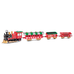Christmas Train Track Toys Electric Stitching Train Track With Light And Music Effect