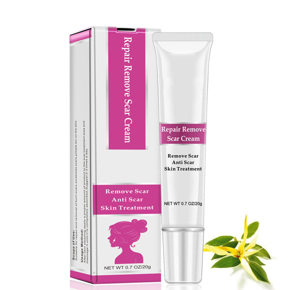 RtopR Facial Body Scar Removal Cream Repair Skin Weaken Marks Eliminate Pimple Promote Horny Layer Updating