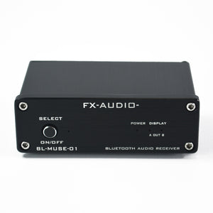 FX-Audio BL-MUSE-01 Hifi Lossless Bluetooth Audio Receiver RCA Optical Coaxial Output Amplifier
