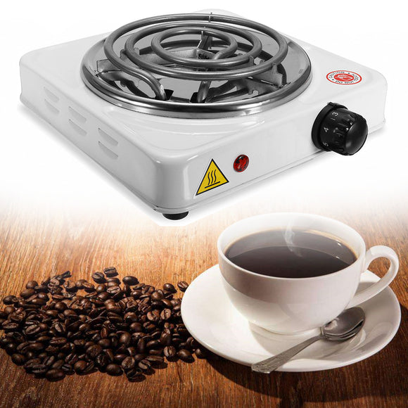1000W Electric Stove Hot Plate Burner Travel Cooking Appliances Portable Warmer Tea Coffee Heater