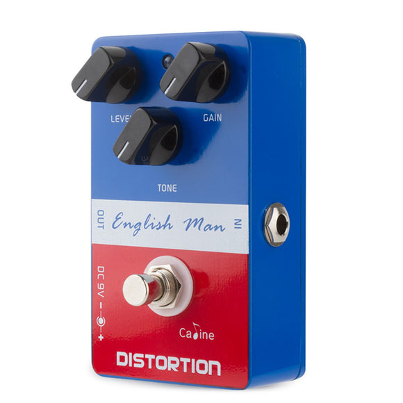 Caline CP-14 English Man Distortion Guitar Effects Pedal True Bypass with High Gain Distortion