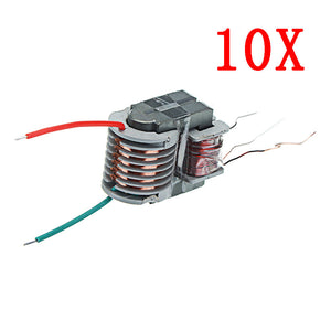 10pcs 15KV High Frequency High Voltage Transformer High Voltage Coil Boost Inverter