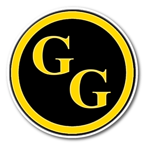 Goldbar Games Circle Sticker
