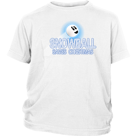 Snowball Saves Christmas Youth T-Shirt