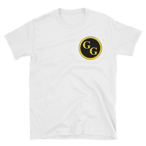 Goldbar Games Circle Logo Short-Sleeve Unisex T-Shirt