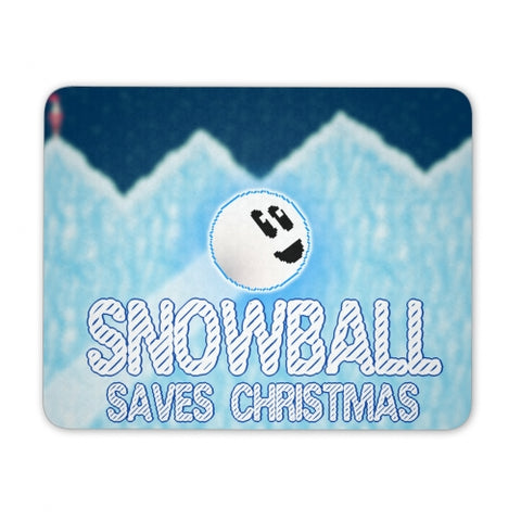 Snowball Saves Christmas Mousepad