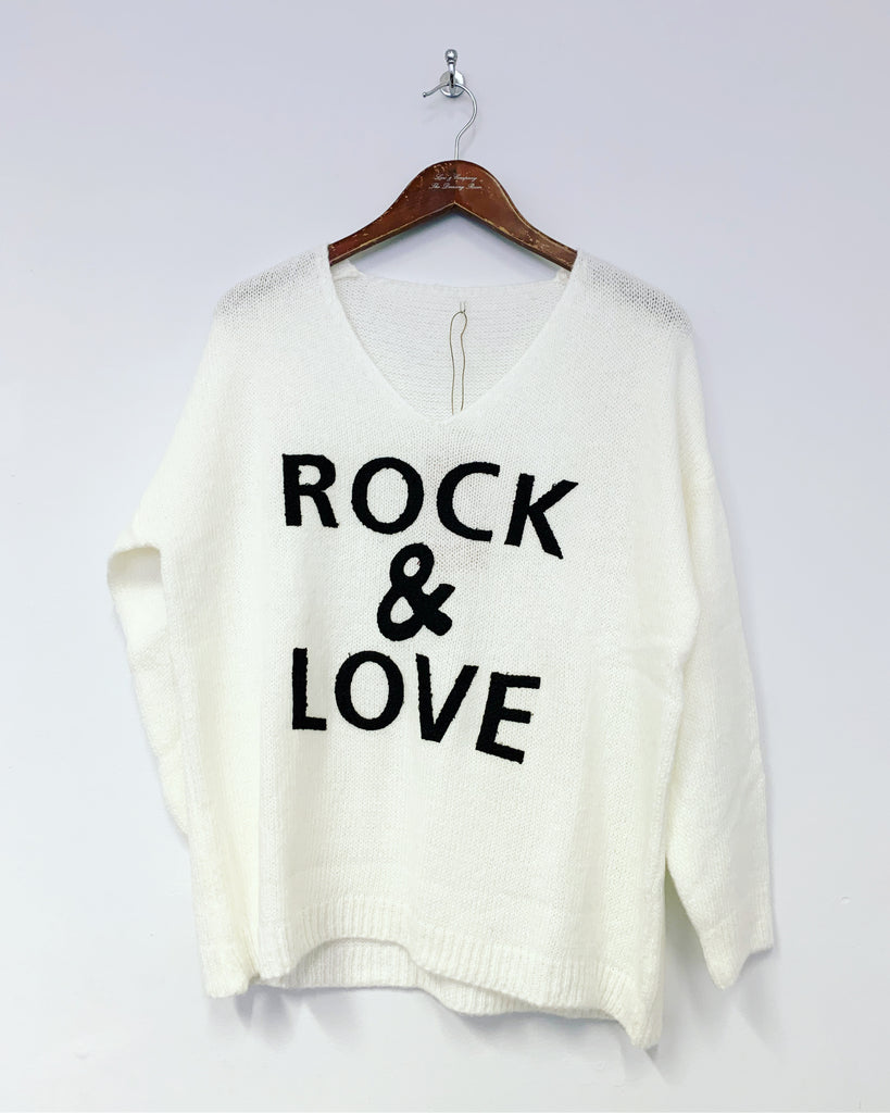 Rock & Love Knit Cream