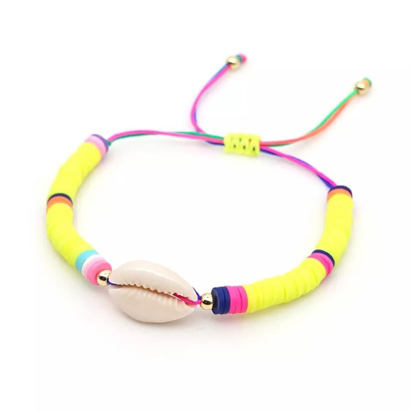 Shell Bracelet Yellow