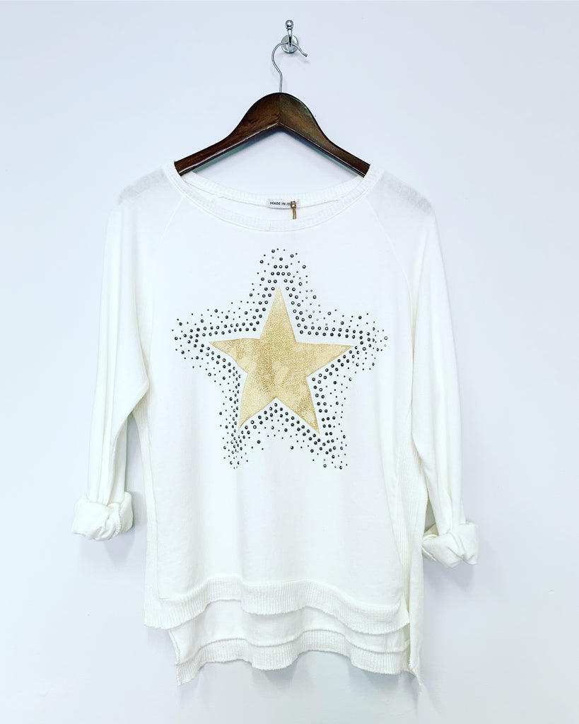Star Sweat White