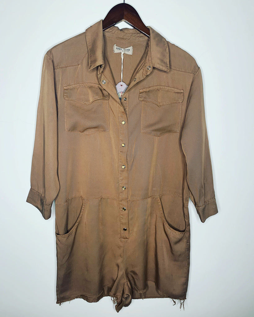 Luca Playsuit Mocha