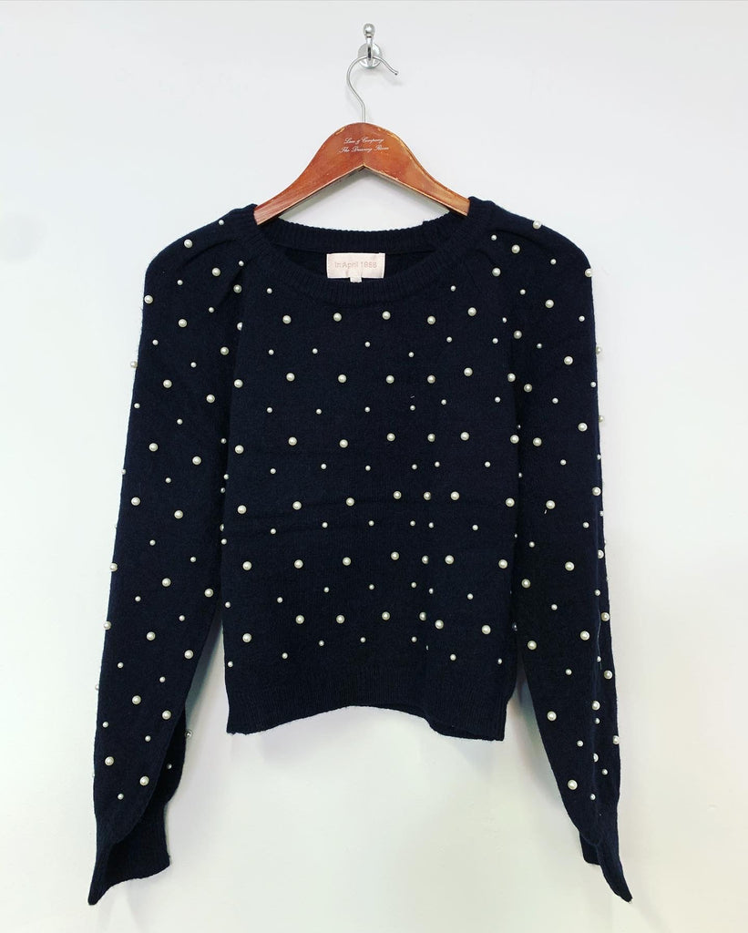 Pearl Knit Black