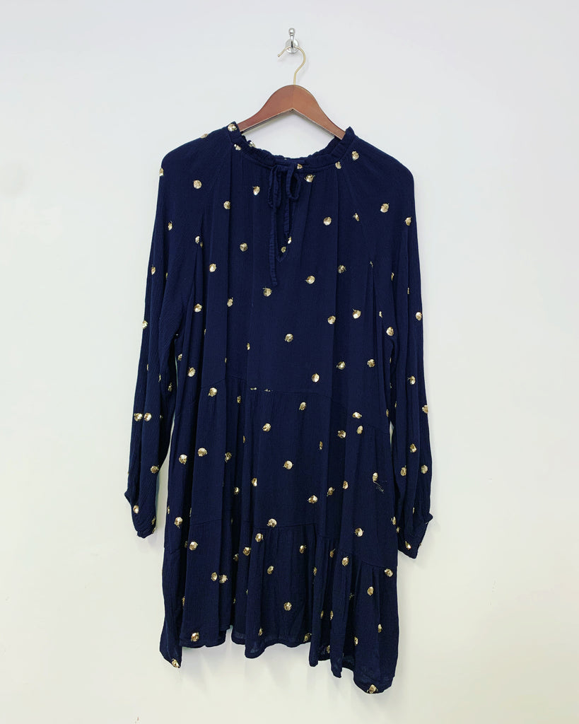 Gemma Dress Navy