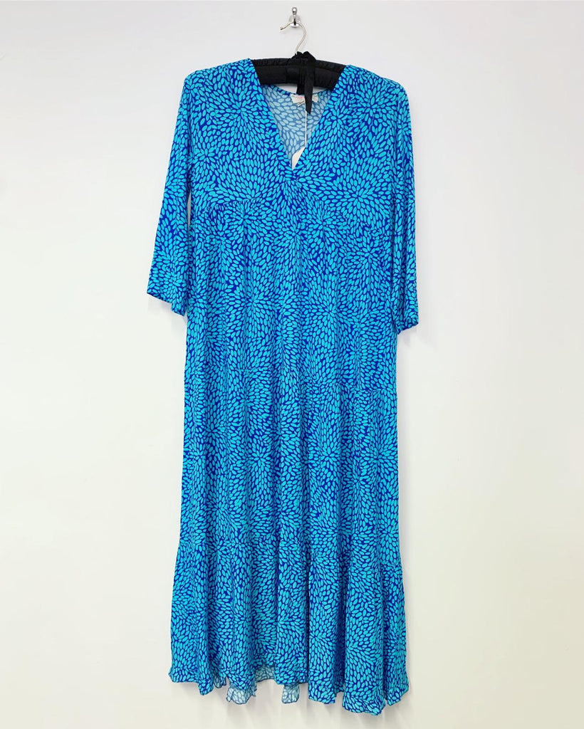 Art Maxi Dress Blue