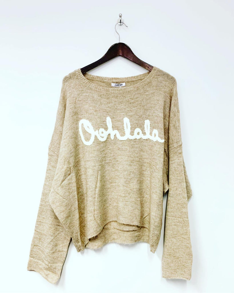 Ooh La La Knit Natural