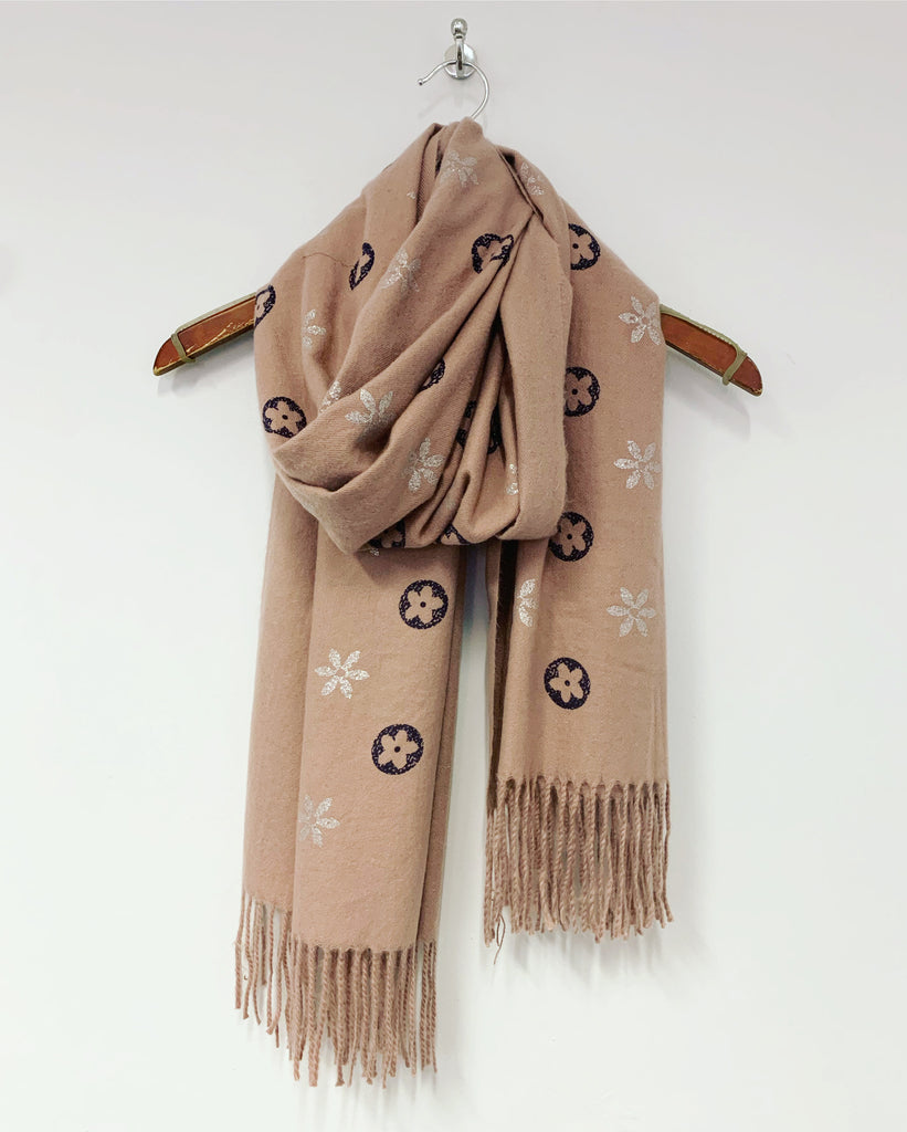 Louise Scarf Black