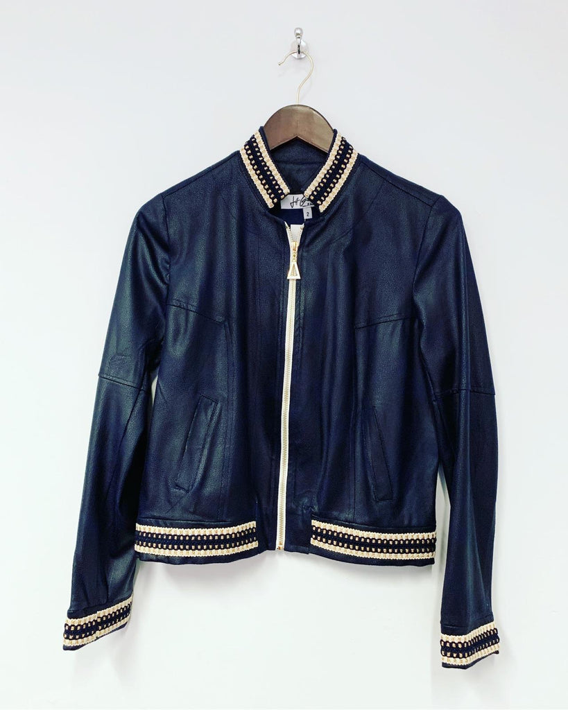 Betty Bomber Jacket Navy