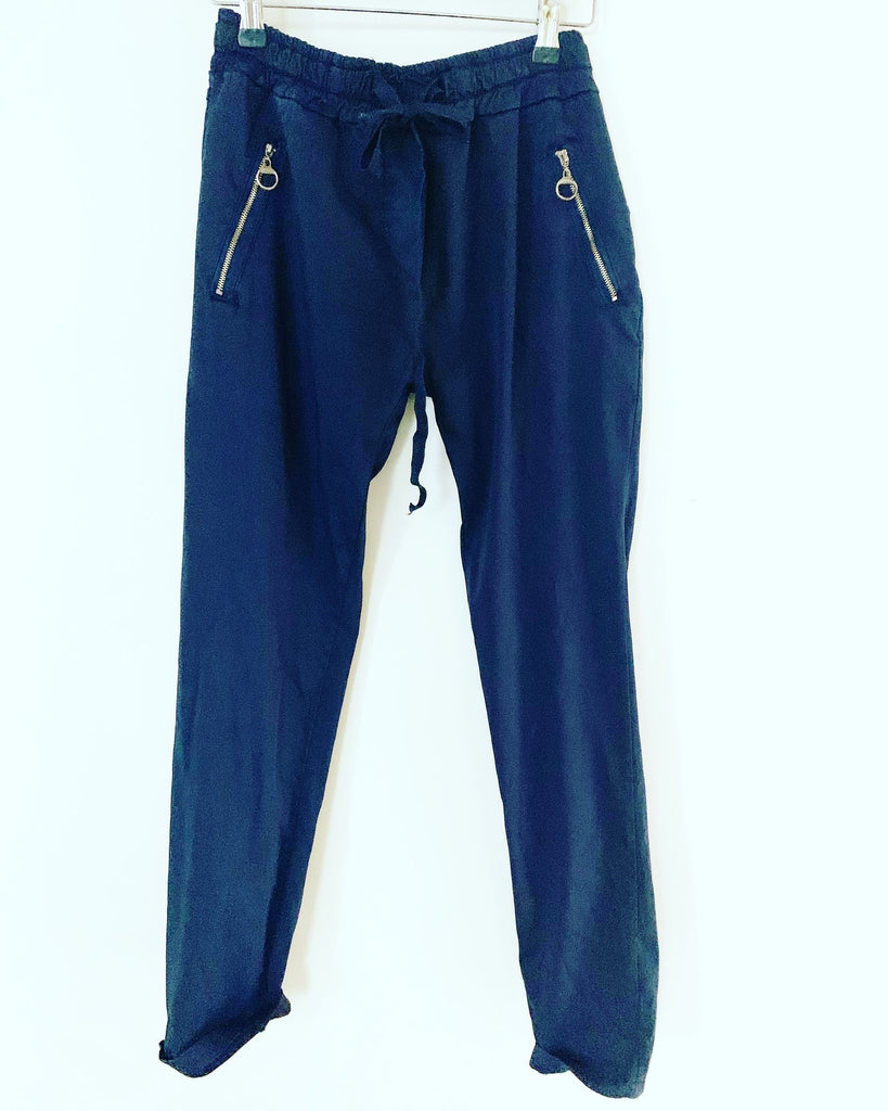 Lux Navy Pant