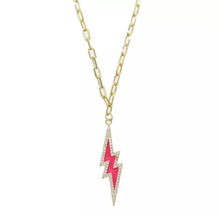 Liberty Necklace Ruby Pink