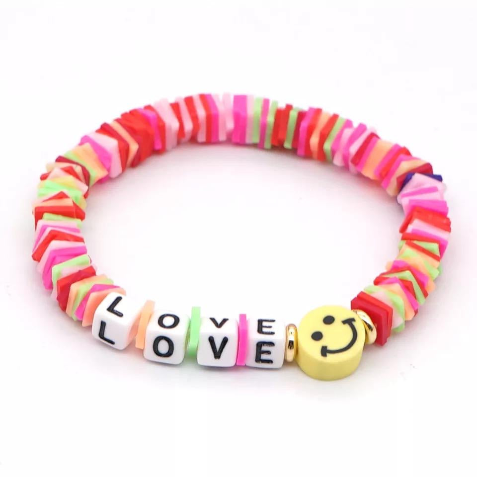 Love Bead Bracelet Smile