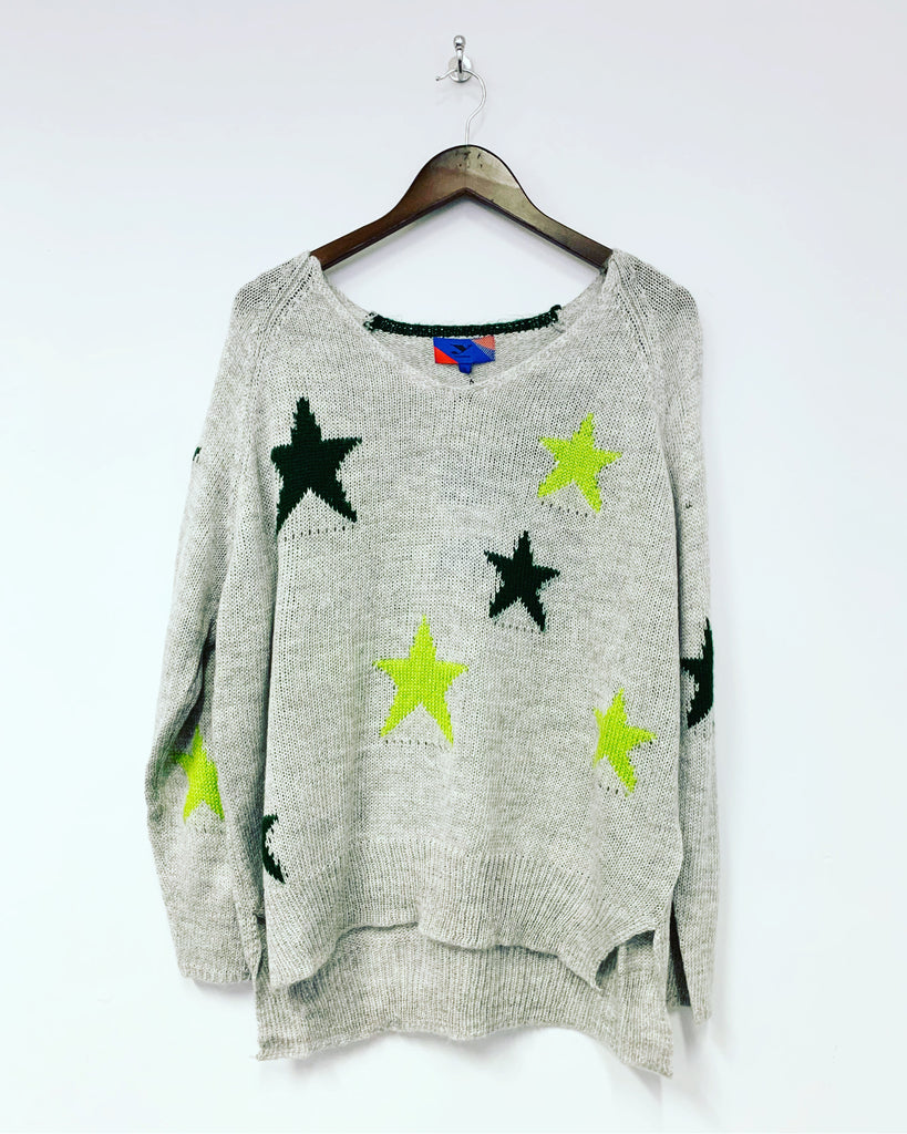 Star Knit Green