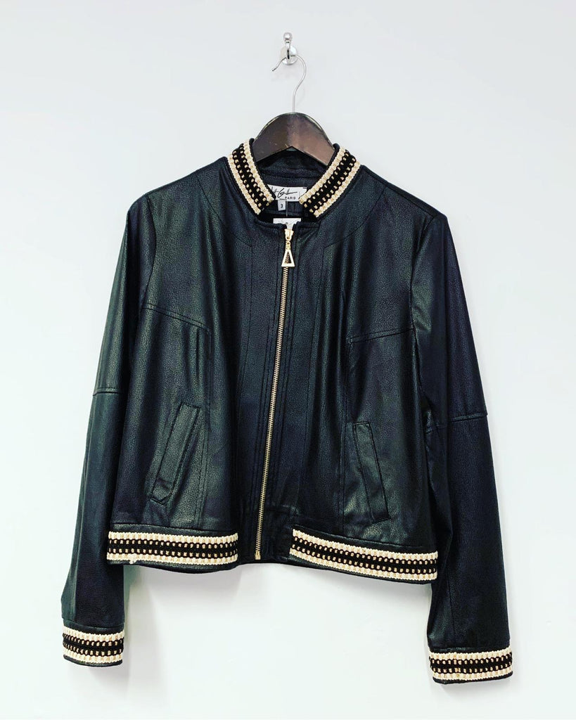 Betty Bomber Jacket Black