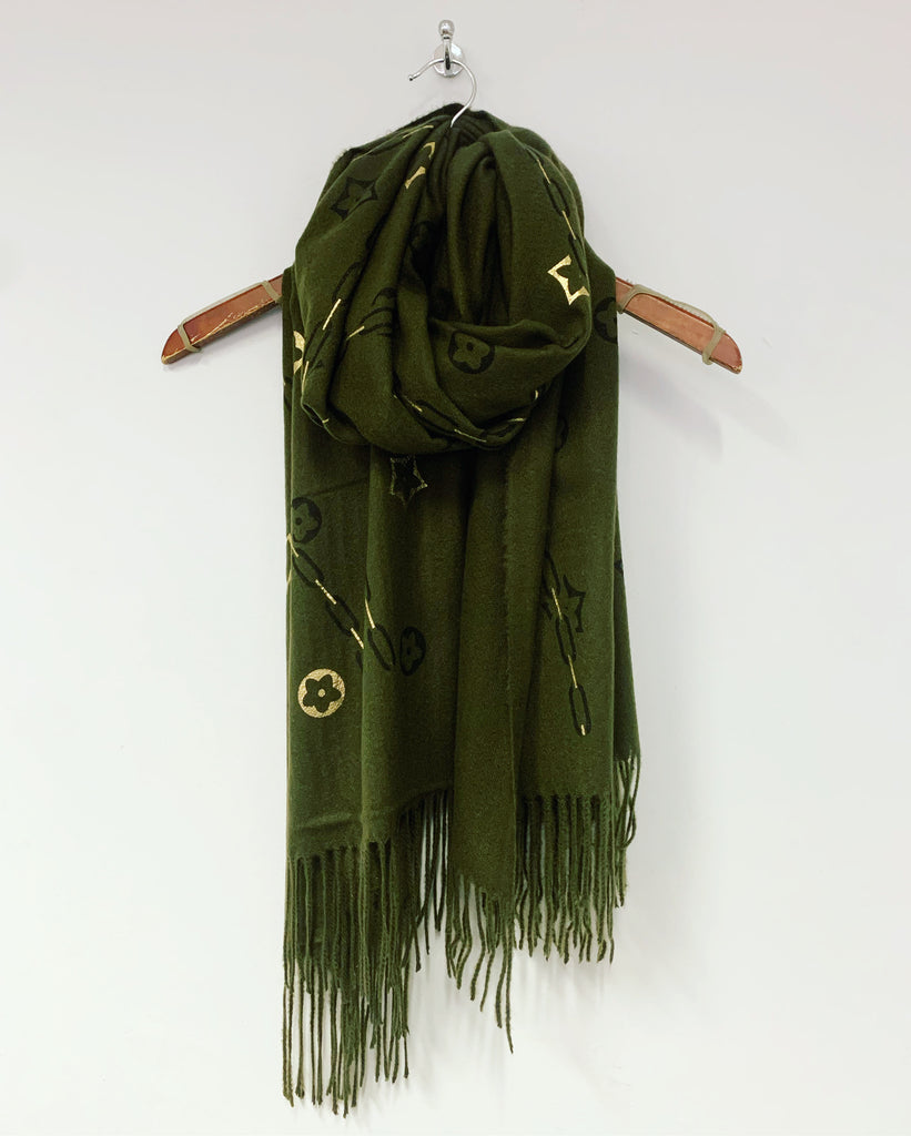 Louise Scarf Olive
