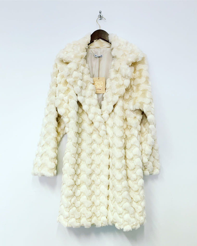 Jackie Coat Cream