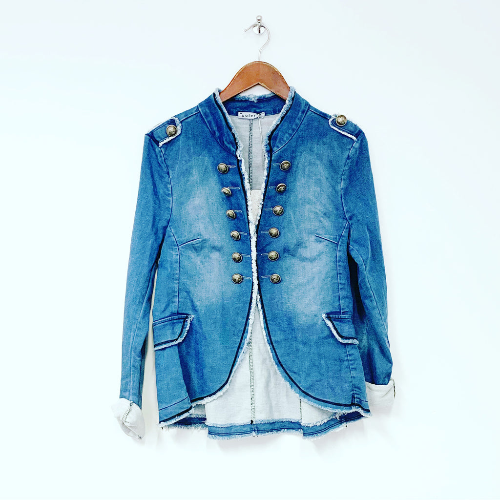 Sophie Faded Denim Blazer