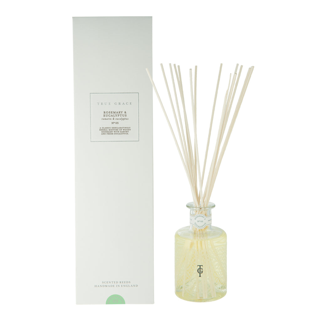 Rosemary & Eucalyptus Room Diffuser by True Grace
