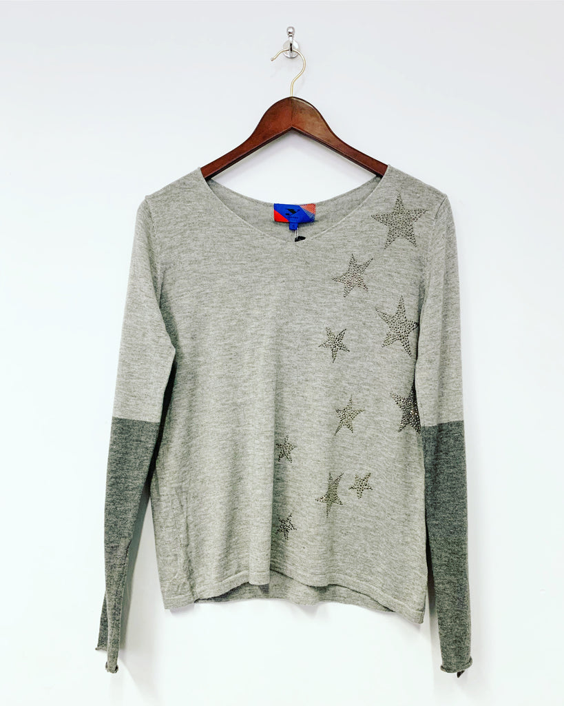 Supersoft Star Knit Grey