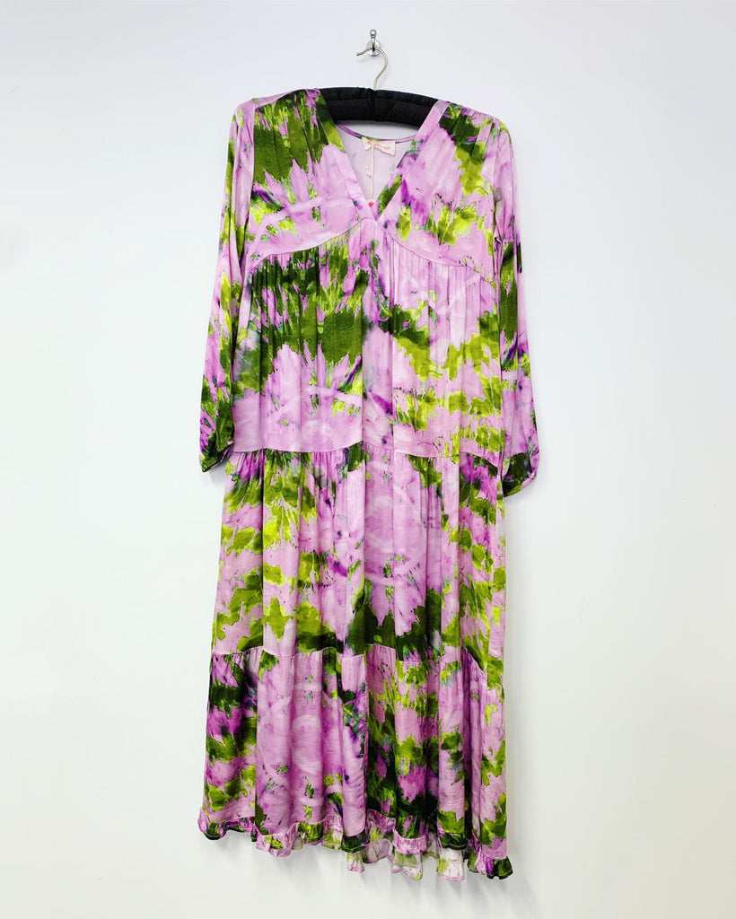 Nausica Dress Purple/Green