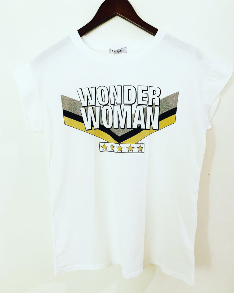 Wonder Woman Tee Black