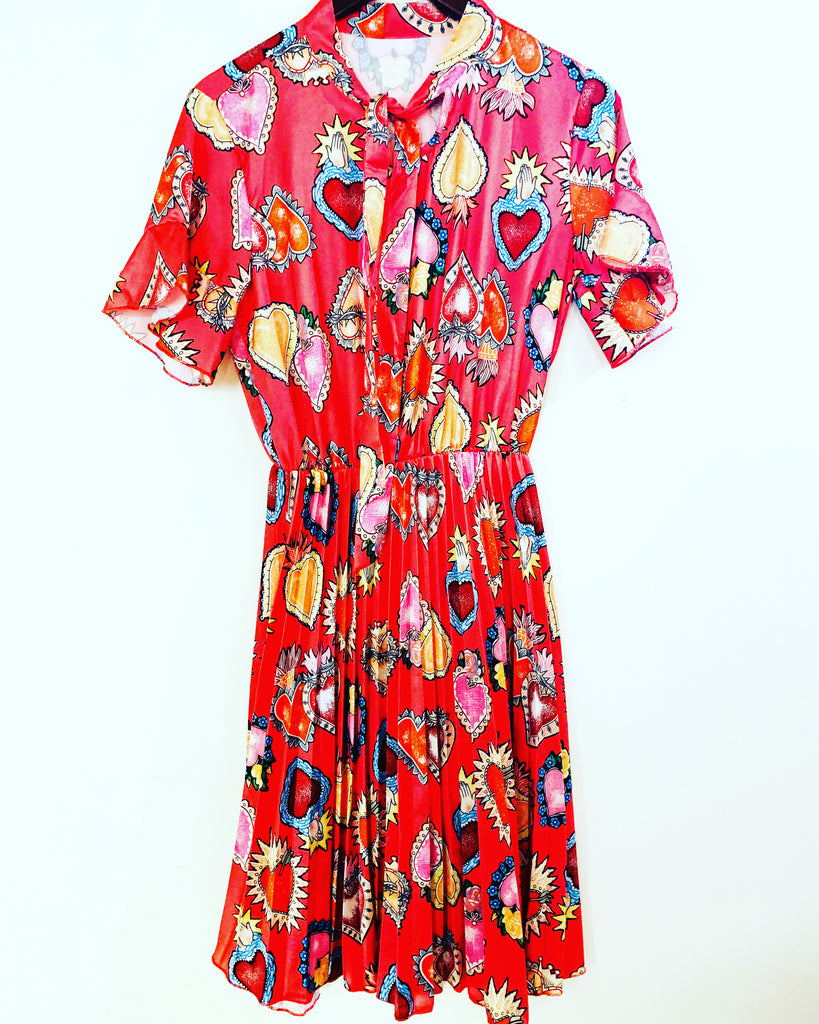 Tutti Fruiti Dress Red
