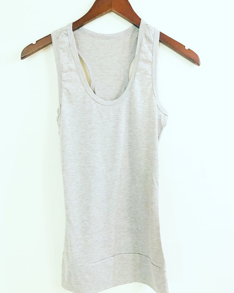 Essential Vest Top Grey