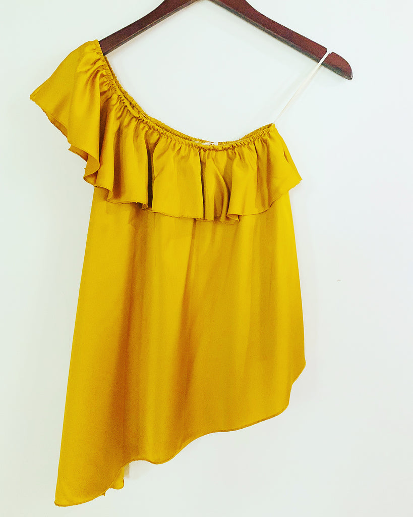 Abbie Top Dark Gold
