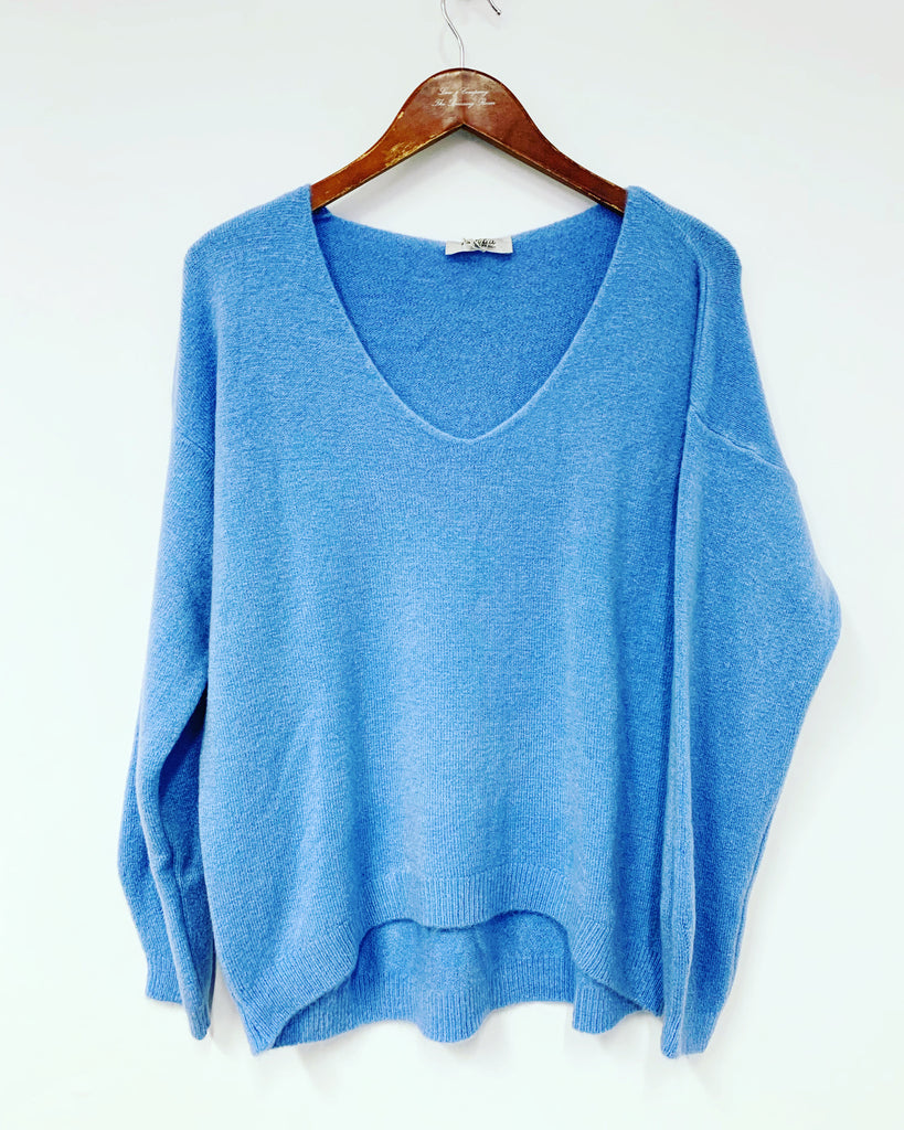 Cosy Knit Light Blue