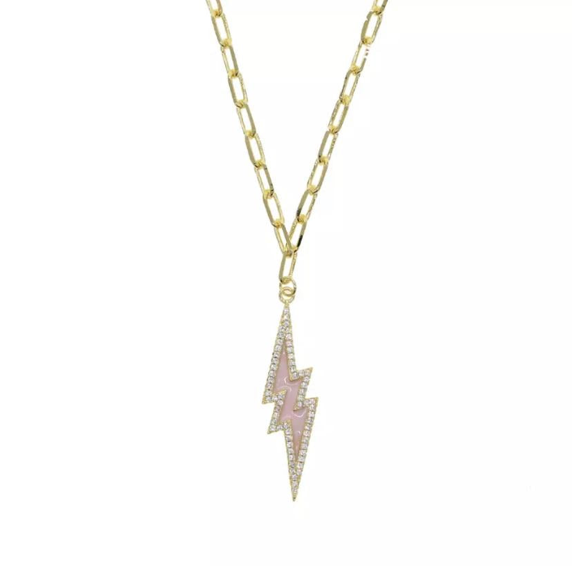 Liberty Necklace Light Pink