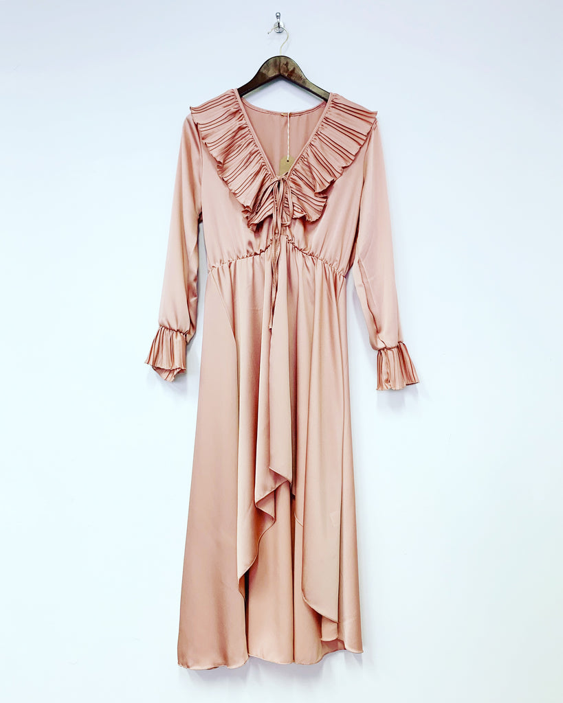Hetty Frill Blush Dress