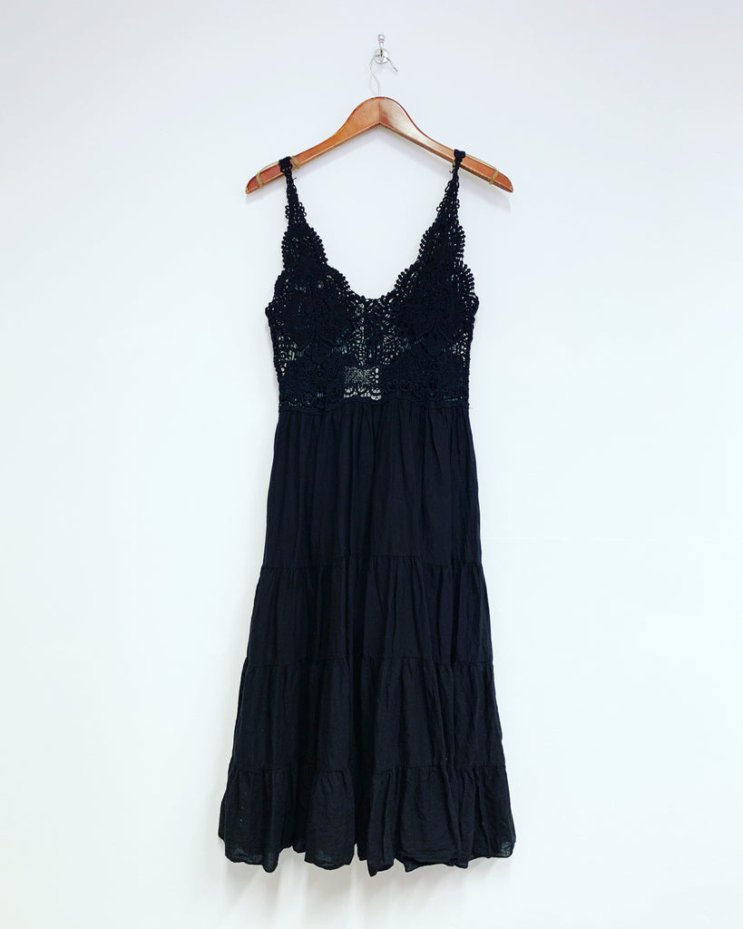Mia Summer Dress Black