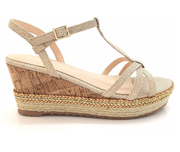 CINDY WEDGE Gold