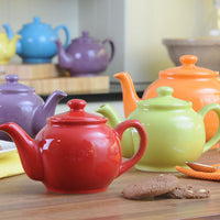 Price /& Kensington Brights Large 10-Cup Teapot Red