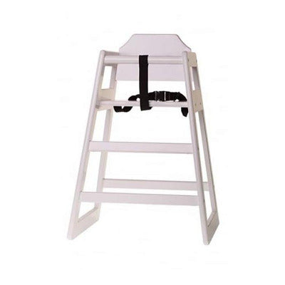 Tablecraft EU Regulation High Chair White - Coffeecups.co.uk