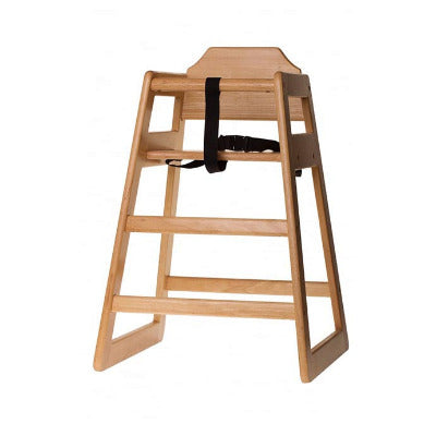 Tablecraft EU Regulation High Chair Natural - Coffeecups.co.uk
